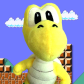 """Koopa - Koopa the Quick or """"Koopa"""" is known as the fastest koopa. Mario originally beat him until he cheated to beat Mario again. He has a very big ego and likes to brag."""