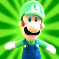 Luigi - Mario's Brother. Luigi is mostly known as being the stupid character, being in a viral video and getting married to an action figure.
